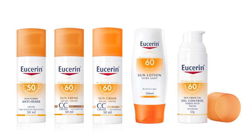 Linha de Proteção Solar Eucerin