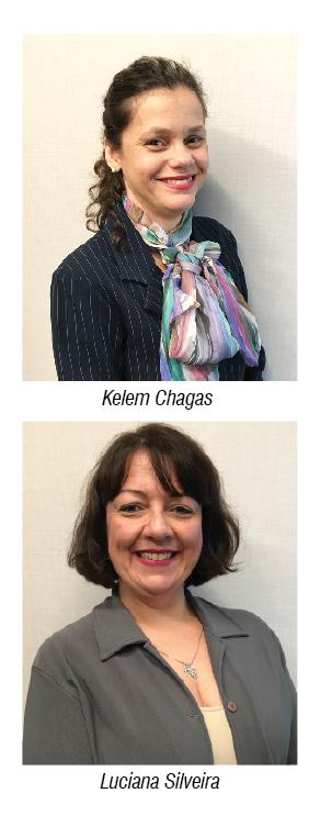 Kelem Chagas e Luciana Silveira