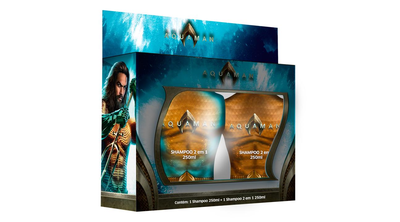 Kit Shampoo Aquaman