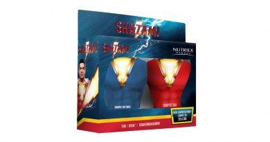 Kit de banho Shazam