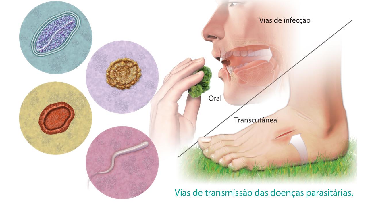 parazitozele intestinale)