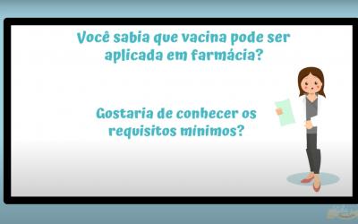 Vacinação nas farmácias